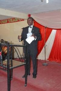 MC @ Elufisan's bk launch